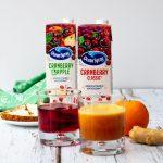 Ocean Spray cranberry smoothie
