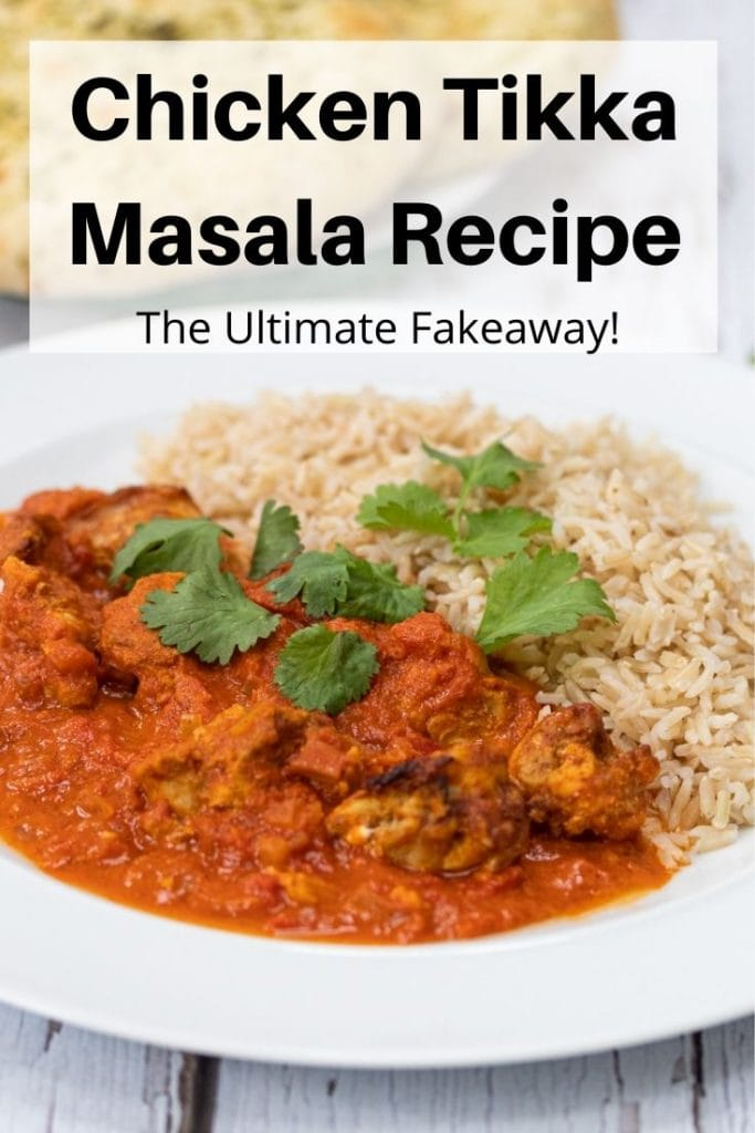 Chicken tikka masala pin image