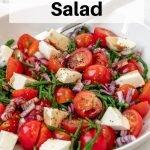 Samphire salad pin image